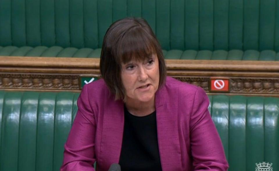 Jo Stevens has hit out at Yorkshire (House of Commons/PA) (PA Wire)