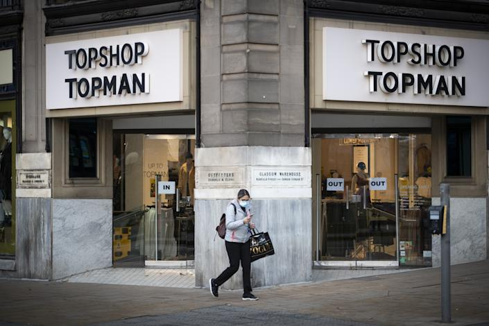 Earlier this year Asos had sealed the deal to buy Arcadia brands Topshop Topman, Miss Selfridge and sportswear brand HIIT for a total £330m. Photo: Getty Images
