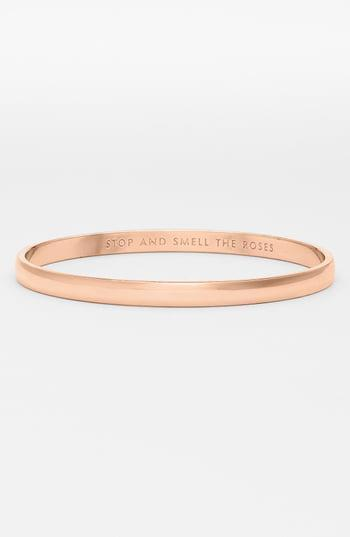 """<p><strong>KATE SPADE NEW YORK</strong></p><p>nordstrom.com</p><p><strong>$38.00</strong></p><p><a href=""""https://go.redirectingat.com?id=74968X1596630&url=https%3A%2F%2Fshop.nordstrom.com%2Fs%2Fkate-spade-new-york-idiom-stop-and-smell-the-roses-bangle%2F3825878&sref=https%3A%2F%2Fwww.womansday.com%2Flife%2Fg955%2Fcheap-gifts-for-women%2F"""" rel=""""nofollow noopener"""" target=""""_blank"""" data-ylk=""""slk:SHOP NOW"""" class=""""link rapid-noclick-resp"""">SHOP NOW</a></p><p>Because who doesn't love a secret message hidden inside a shiny bracelet?</p>"""