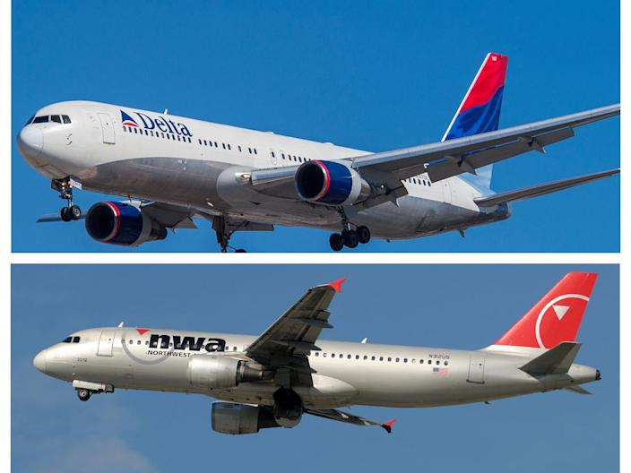 Delta Air Lines and Northwest Airlines merger