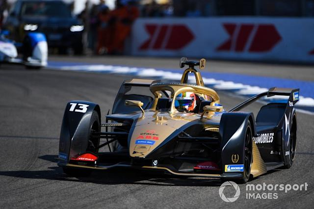 "Antonio Felix da Costa, DS Techeetah, DS E-Tense FE20 <span class=""copyright"">Sam Bagnall / Motorsport Images</span>"