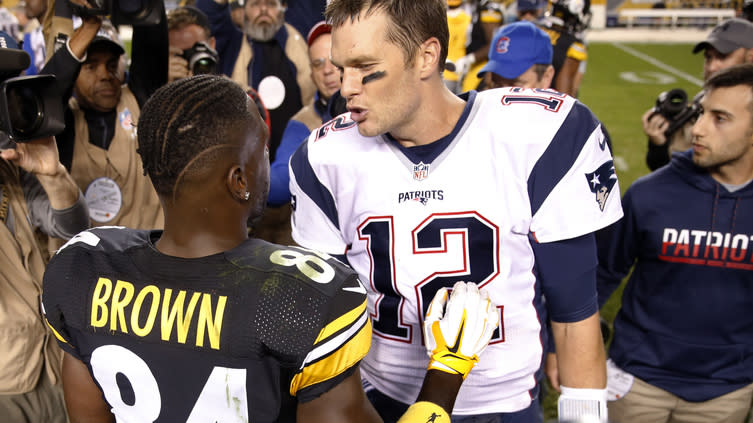 8bb82dc13 Antonio Brown picked interesting time to share this DM from Tom Brady
