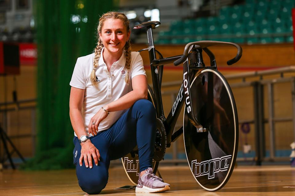 Laura Kenny of Great Britain is looking to win a medal after giving birth to her son Albert in 2017 (Getty)