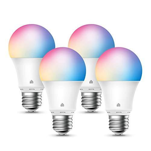 Kasa Smart Light Bulbs, Full Color Changing Dimmable Smart WiFi Bulbs Compatible with Alexa and…