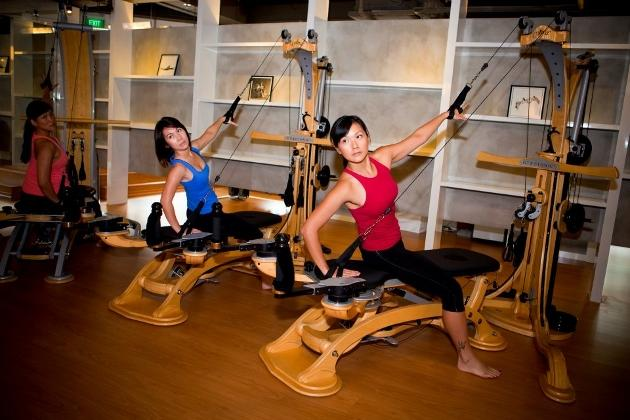 The Moving Body was the first to offer Gyrotonic in Singapore. (photo from The Moving Body)