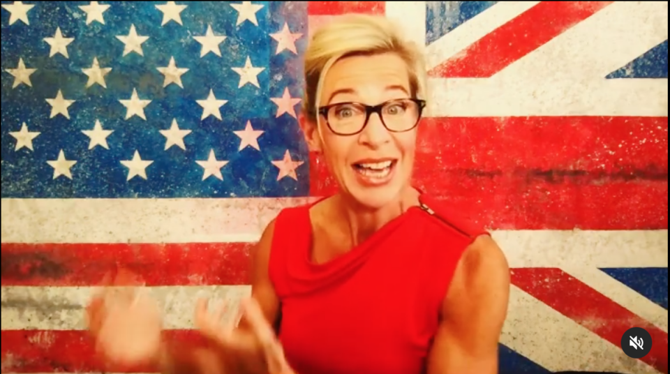 Controversial far-right commentator Katie Hopkins didn't even make it past quarantine to appear on Big Brother VIP. Photo: instagram/@_katie_hopkins_