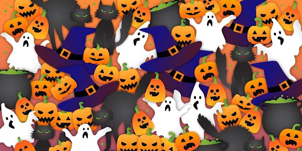 Can You Spot the Hidden Bat in This Tricky Halloween Puzzle?