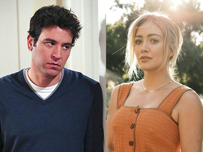 Ted Mosby Hilary Duff How I Met Your Mother Father sequel series CBS Hulu