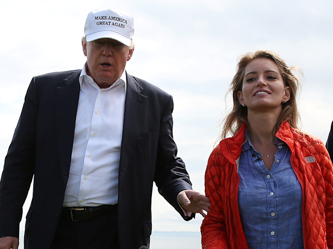 Donald Trump singles out NBC's Katy Tur, again