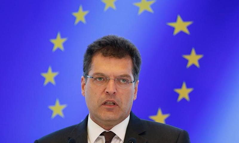 European commissioner for crisis management Janez Lenarčič