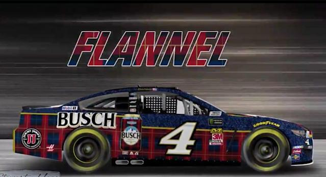 Stewart-Haas Racing revealed a glimpse of perhaps the comfiest paint scheme in NASCAR on Thursday. Yes, Kevin Harvick will again sport the Busch Flannel Ford Mustang next weekend at Talladega Superspeedway. You wanted it. You got it! Flannel is back, baby! 🙌 @KevinHarvick will race the No. 4 BUSCHHHHH Flannel Ford Mustang next weekend at […]