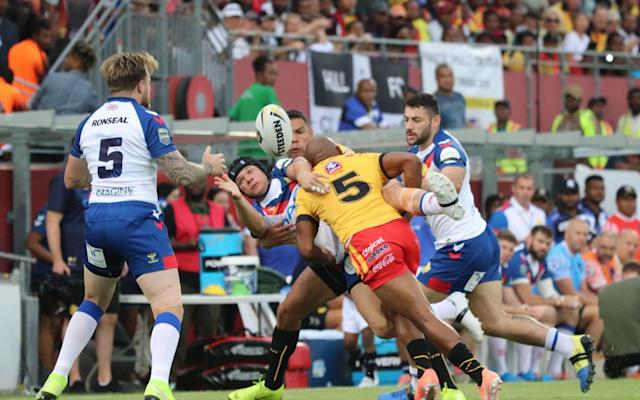 Great Britain's miserable tour ended with a 28-10 defeat to Papua New Guinea on Saturday - Troy Taule / Paua New Guinea Rugby Football League