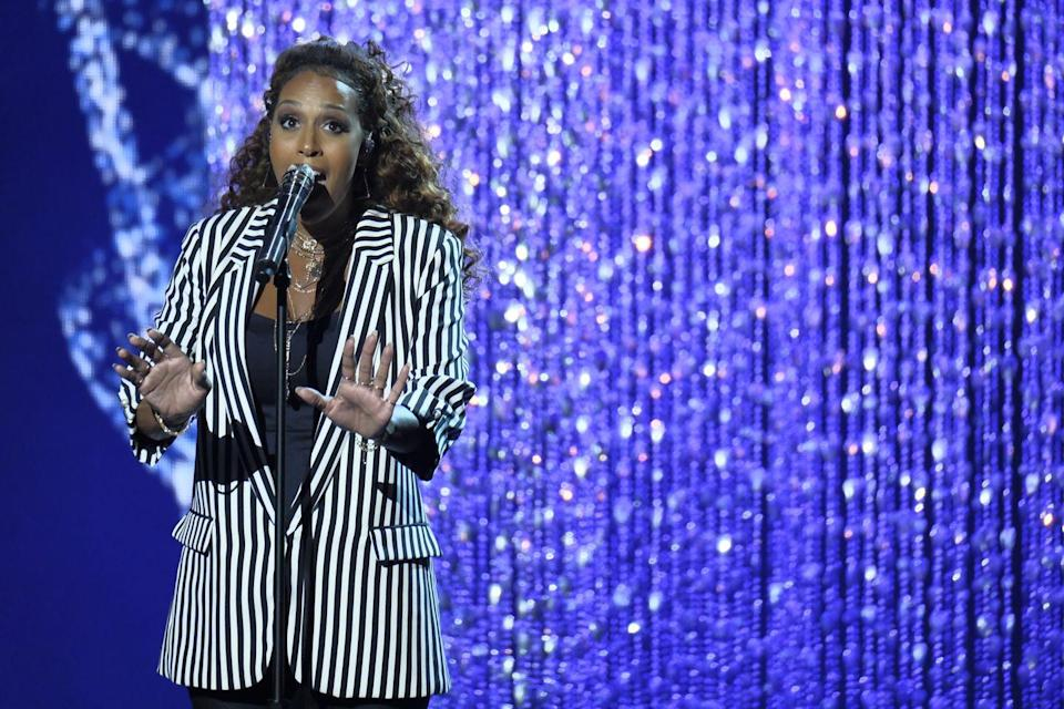 "<p>Former contestant Glennis Grace revealed that she didn't choose her songs on the show. In an <a href=""https://www.youtube.com/watch?v=1-gxP1KLFRY&feature=youtu.be"" rel=""nofollow noopener"" target=""_blank"" data-ylk=""slk:interview with Talent Recap"" class=""link rapid-noclick-resp"">interview with Talent Recap</a>, Grace explained this, saying, ""We had a lot of options, but this was the song I had to do.""</p>"