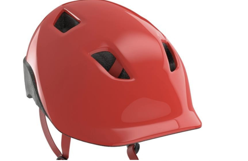 Btwin kids' cycling helmet, S$15. PHOTO: Decathlon