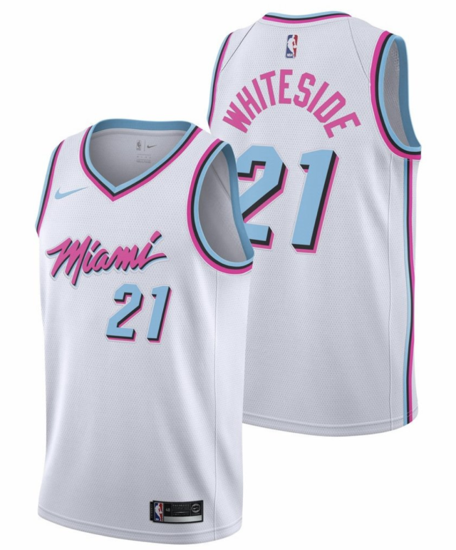 Miami Heat City uniform. (Nike)