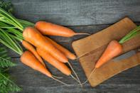 <p>Carrots are rich in beta-carotene, which reduces inflammation in the blood vessels of the brain, making them an ideal remedy for cold-induced headaches. Swap your lunchtime sandwiches for a thermos of homemade carrot and coriander soup. <i>[Photo: Getty] </i></p>