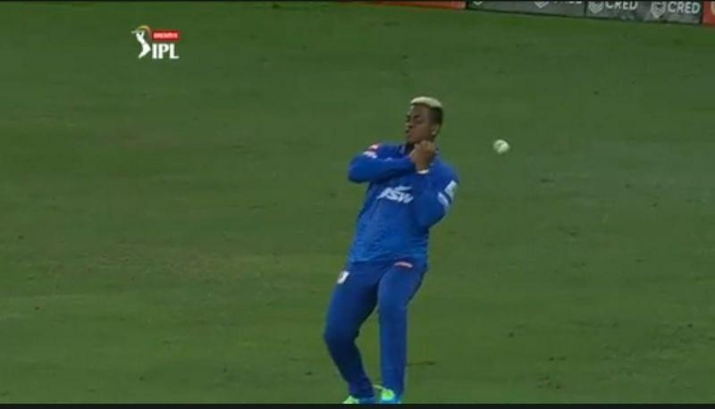 Shimron Hetmyer is on the verge of getting dropped from the DC playing eleven (Image Credits: IPLT20.com)
