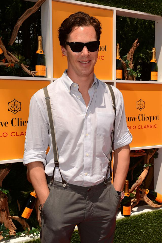 JERSEY CITY, NJ - JUNE 02:  Actor Benedict Cumberbatch attends the fifth annual Veuve Clicquot Polo Classic on June 2, 2012 in Jersey City.  (Photo by Andrew H. Walker/Getty Images for Veuve Clicquot Polo Classic)