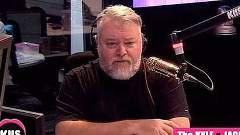 Kyle Sandilands has told listeners about his graphic health issue on his KIIS FM radio show.
