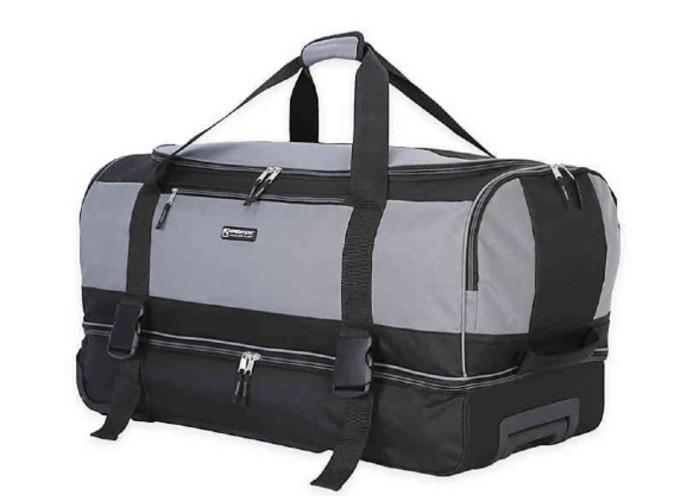 Traveler's Club XPedition 30-Inch Rolling Drop-Bottom Duffle Bag. (Photo: Bed Bath and Beyond)