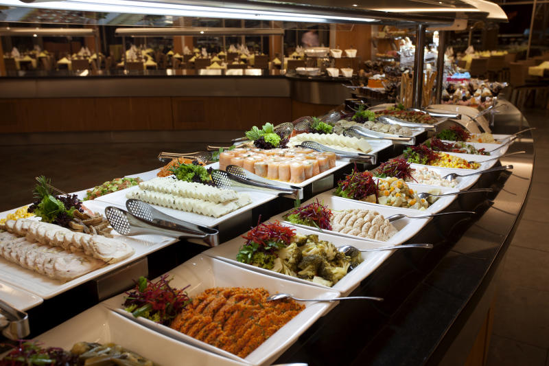 Several buffet restaurants in Las Vegas are shutting down to prevent the spread of coronavirus. (Getty Images)