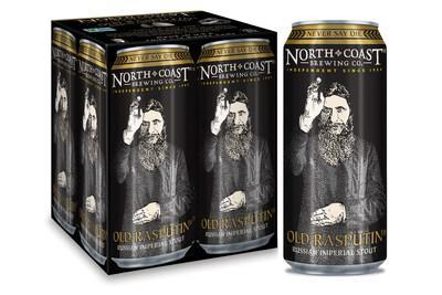 Old Rasputin Russian Imperial Stout in Cans