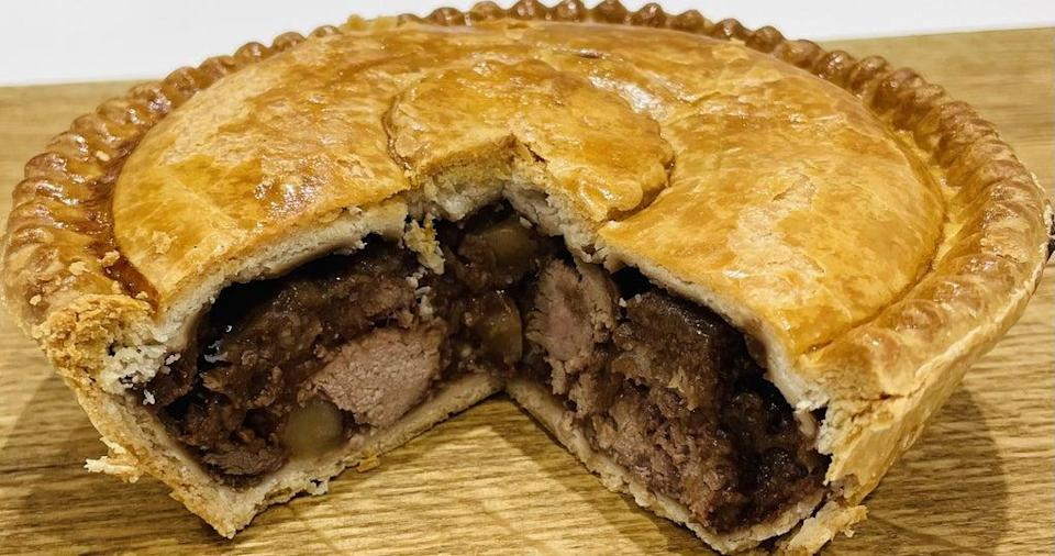 The Supreme Champion of the 2021 British Pie Awards, a Meat and Potato Pie from Nottinghamshire based Bowring Butchers (British Pie Awards/PA) (PA Media)