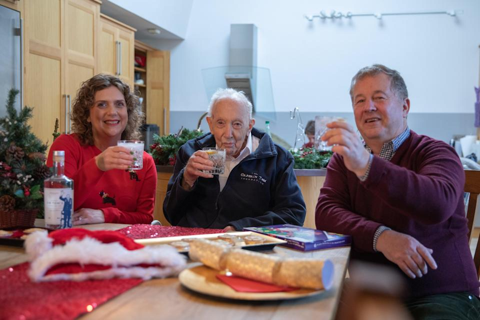 <p>Captain Sir Tom said he enjoys a G&T before dinner</p>Otterbeck Distillery