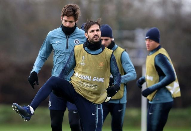 Cesc Fabregas has had a reduced role with Chelsea this season