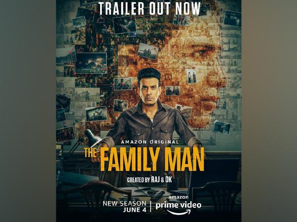 Poster of 'The Family Man 2' (Image source: Twitter)