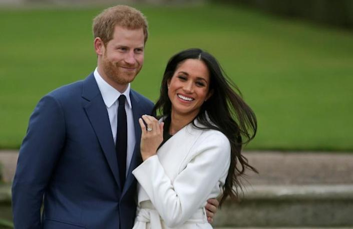 Britain's Prince Harry and Meghan Markle are bowing out entirely from representing the monarchy (AFP Photo/Daniel LEAL-OLIVAS)