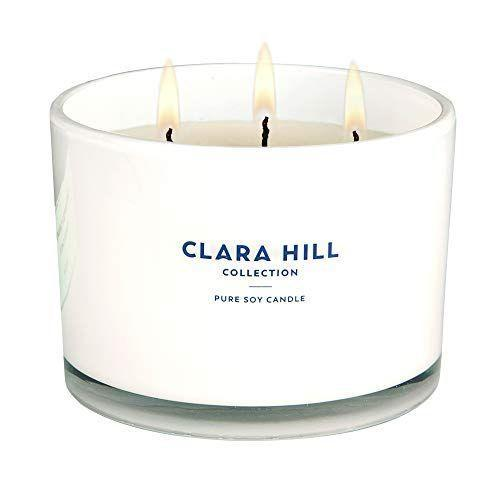 """<p><strong>Clara Hill Collection</strong></p><p>amazon.com</p><p><a href=""""https://www.amazon.com/dp/B07ZDNGRJ4?tag=syn-yahoo-20&ascsubtag=%5Bartid%7C2139.g.32270252%5Bsrc%7Cyahoo-us"""" rel=""""nofollow noopener"""" target=""""_blank"""" data-ylk=""""slk:BUY IT HERE"""" class=""""link rapid-noclick-resp"""">BUY IT HERE</a></p><p>This soy candle by Clara Hill will warm her room, and her mood. It smells like toasted marshmallows and sandalwood.</p>"""
