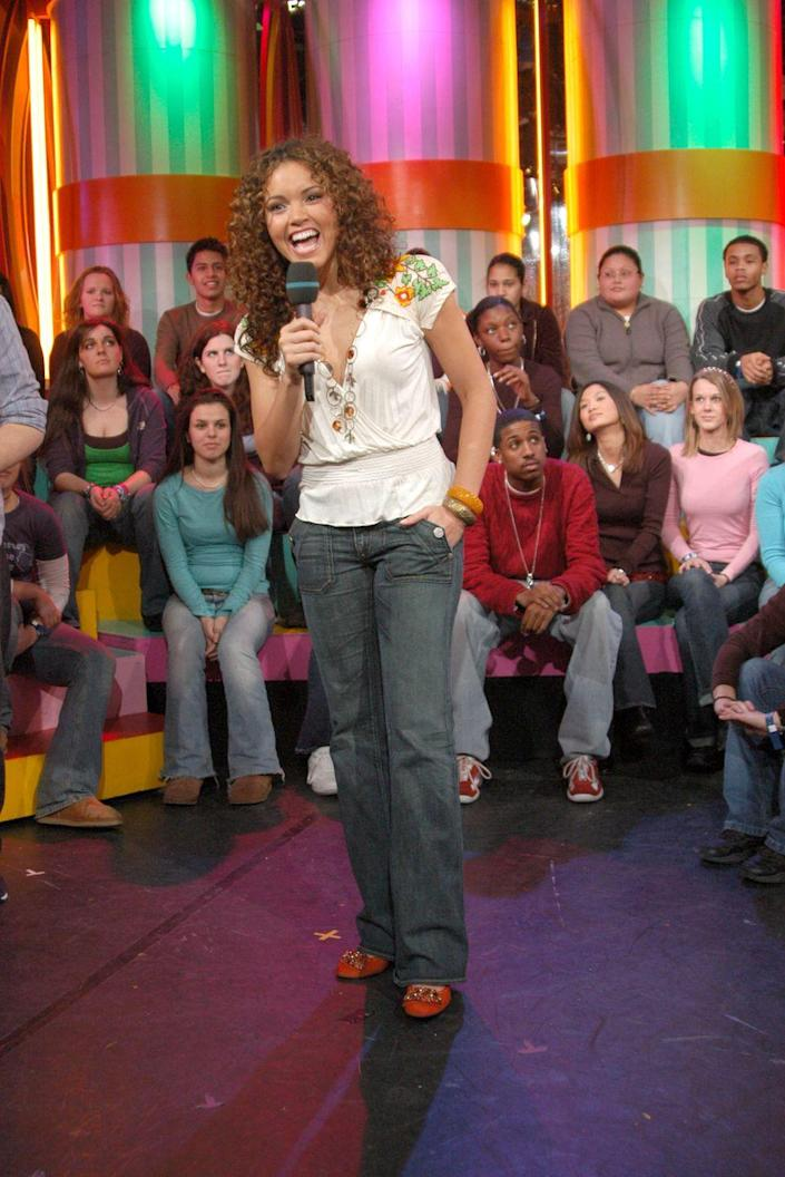 <p>Things Susie Castillo has accomplished, aside from nailing this outfit: 1. Being Miss USA. 2. Hosting <em>TRL</em>. 3. Launching <em>Mi TRL</em>.</p>