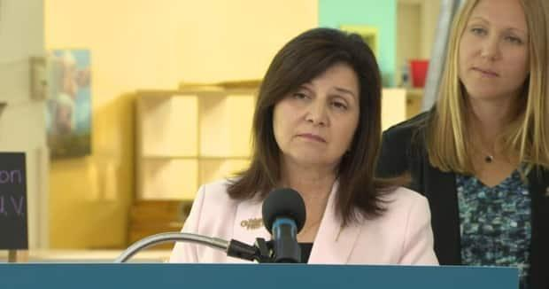 Education Minster Adriana LaGrange has had to defend the province's new K-6 curriculum.