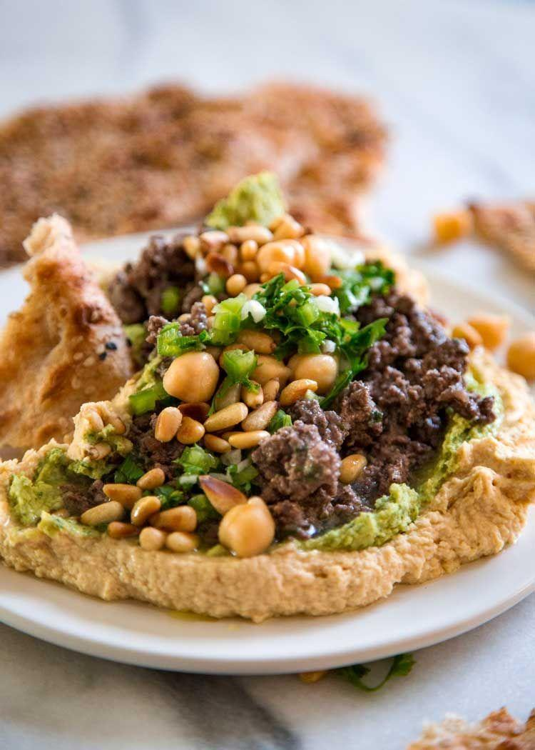 """<p>Perfect for summer, this lamb dish has a lemon herb sauce that is simply delicious.</p><p>Get the <a href=""""https://keviniscooking.com/hummus-with-lamb-and-lemon-herb-sauce/"""" rel=""""nofollow noopener"""" target=""""_blank"""" data-ylk=""""slk:Hummus with Lamb"""" class=""""link rapid-noclick-resp"""">Hummus with Lamb</a> recipe.</p><p>Recipe from <a href=""""https://keviniscooking.com/"""" rel=""""nofollow noopener"""" target=""""_blank"""" data-ylk=""""slk:Kevin Is Cooking"""" class=""""link rapid-noclick-resp"""">Kevin Is Cooking</a>. </p>"""