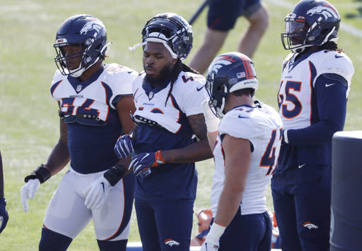Broncos cut ties with their leading tackler Todd Davis