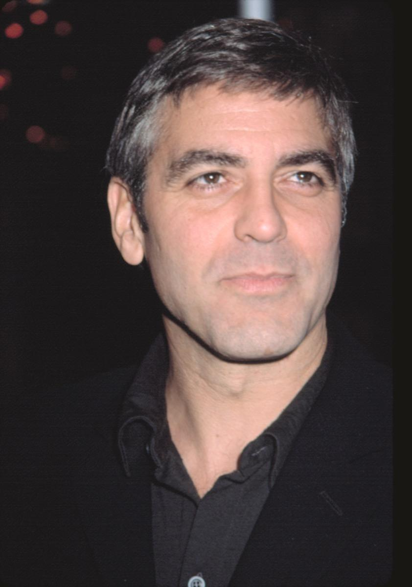george clooney in the 2000s