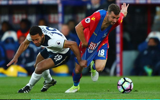 <span>Mousa Dembele's ankle will be assessed ahead of the game</span> <span>Credit: Getty images </span>
