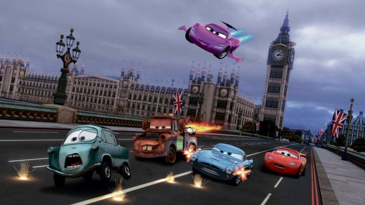 <p>                                     The first Cars movie concerns an arrogant racecar who learns humility from a ragtag group of small-towners; a heartfelt take on the returning-to-your-roots trope. Its lesser sequel, however, drives a lesser gone path.&#xA0;Cars 2&#xA0;takes the side-character Mater, voiced by Larry the Cable Guy, and puts him front-and-centre as he becomes an unassuming spy. As a result, the series loses its found-family values &#x2013; and its heart. Cars 2 became the first &#x201C;rotten&#x201D; Pixar movie on Rotten Tomatoes. Kachow?&#xA0;                                 </p>