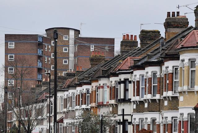 Some tenants borrow to cover deposit costs as rents have grown, with higher-than-average rents in central London areas like Newham. Photo: Toby Melville/Reuters