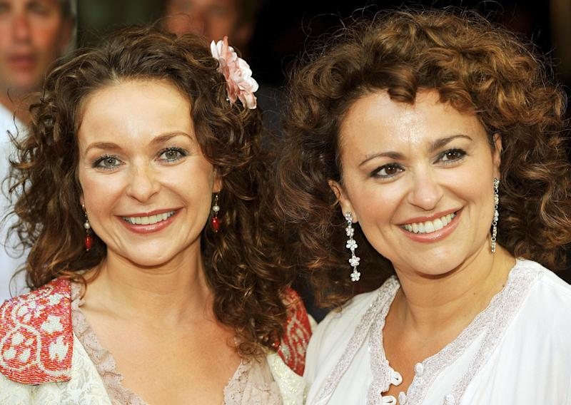 Julia and Nadia Sawalha in happier times, nine years ago (Photo: PA Archive/PA Images)
