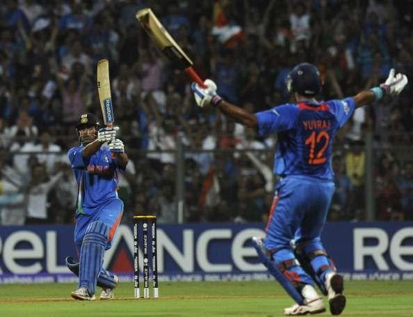 A moment Indian fans will never forget.