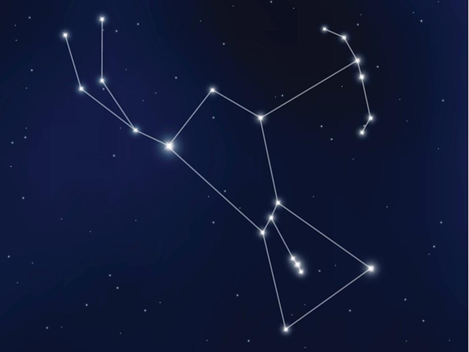The Orion constellation is one of the most prominent star patterns in the night skyGetty Images/iStockphoto