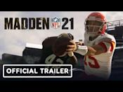 """<p><strong>PS5 Release D</strong><strong>ate: December 4 upgrade<br></strong><a class=""""link rapid-noclick-resp"""" href=""""https://www.amazon.com/Madden-NFL-21-PlayStation-4/dp/B089DFJJGR/?tag=syn-yahoo-20&ascsubtag=%5Bartid%7C10054.g.32711498%5Bsrc%7Cyahoo-us"""" rel=""""nofollow noopener"""" target=""""_blank"""" data-ylk=""""slk:Buy"""">Buy</a><br></p><p>Unlike the new <em>Assassin's Creed </em>method, we do get a new Madden every year, for better or for worse. There's not much to say here except that it's Madden, it'll be on PS5, and Lamar Jackson is the cover star. Madden is offering free, next-gen upgrades on Xbox and PS5.<br></p><p><a href=""""https://youtu.be/dL5KJa-N5KQ"""" rel=""""nofollow noopener"""" target=""""_blank"""" data-ylk=""""slk:See the original post on Youtube"""" class=""""link rapid-noclick-resp"""">See the original post on Youtube</a></p>"""