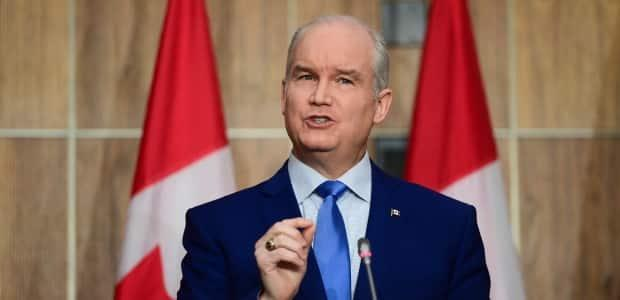 Conservative Leader Erin O'Toole was highly critical of the government's plan to accelerate immunizations in prisons.