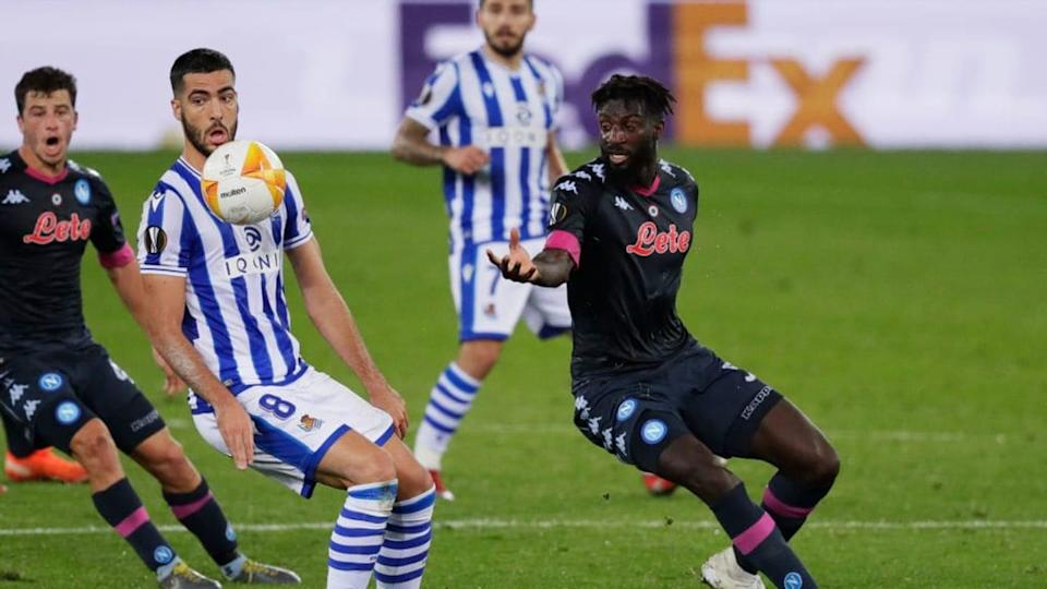 Real Sociedad v Napoli - UEFA Europa League | Soccrates Images/Getty Images