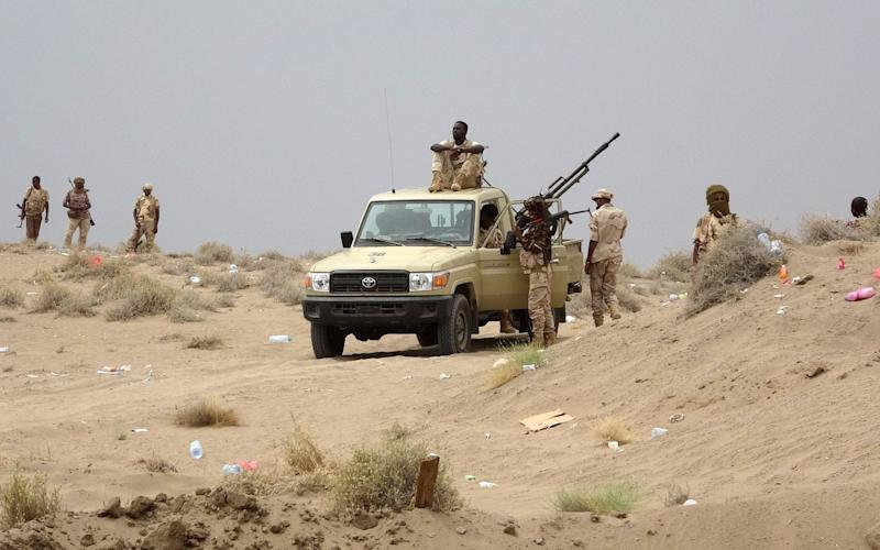 Yemeni forces supported by the UAE began attacking Hodeidah from the south - AFP