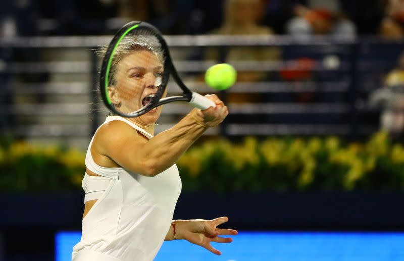 Halep says does not currently plan to play U.S. Open