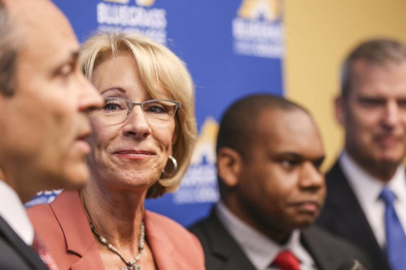 High school journalists were blocked from Betsy DeVos event. So, they wrote about it