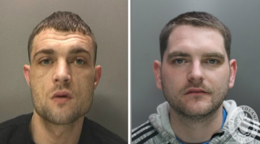 Ryan Hobday and Ben Whyley are wanted in connection with the murders but detectives believe they may have been killed